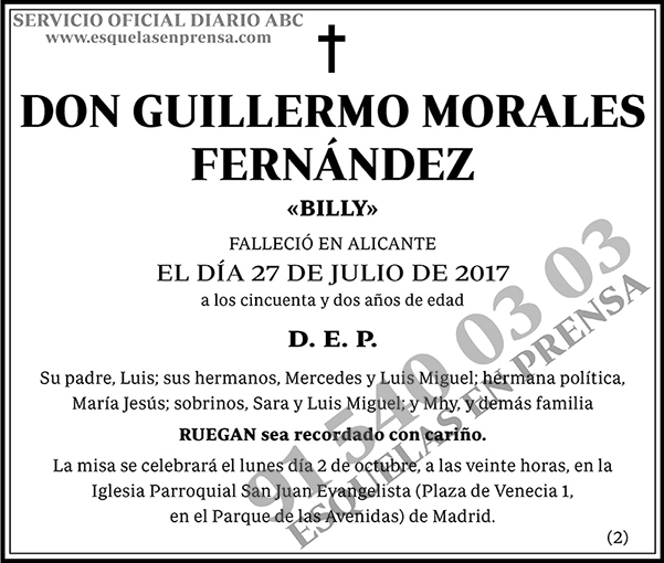 Guillermo Morales Fernández